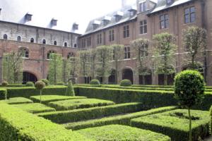 Inner courtyard of Het Pand